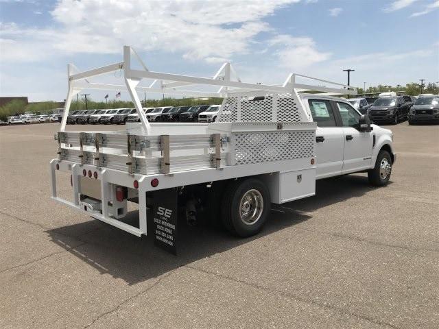 2019 Ford F-350 Crew Cab DRW 4x2, Scelzi Contractor Body #KEE29277 - photo 1
