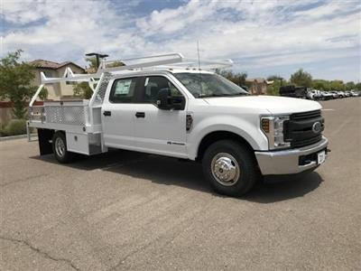 2019 F-350 Crew Cab DRW 4x2, Scelzi CTFB Contractor Body #KEE29277 - photo 1