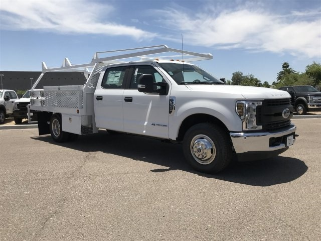 2019 F-350 Crew Cab DRW 4x2, Scelzi CTFB Contractor Body #KEE29278 - photo 1