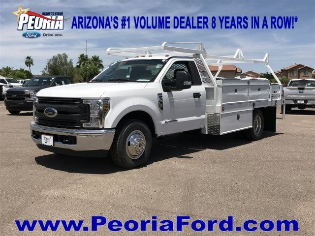 2019 F-350 Crew Cab DRW 4x2,  Scelzi CTFB Contractor Body #KEE29281 - photo 1