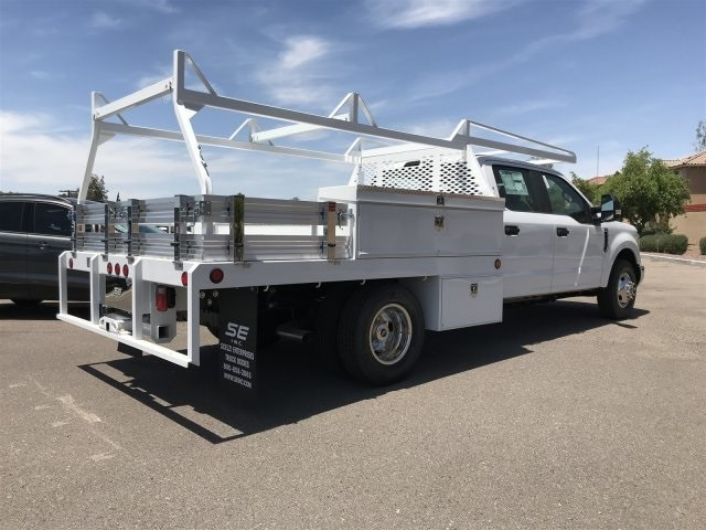 2019 F-350 Crew Cab DRW 4x2, Scelzi CTFB Contractor Body #KEE29284 - photo 2