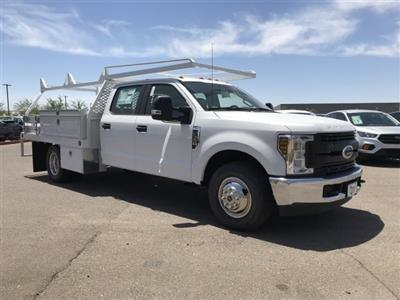 2019 F-350 Crew Cab DRW 4x2, Scelzi CTFB Contractor Body #KEE29284 - photo 1