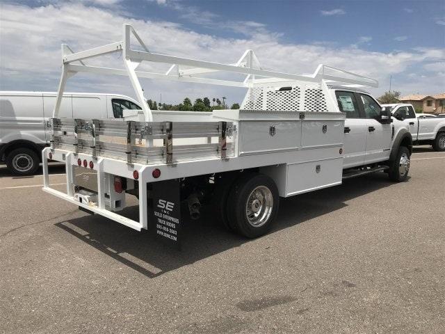 2019 F-550 Crew Cab DRW 4x2,  Scelzi Contractor Body #KEE29299 - photo 1