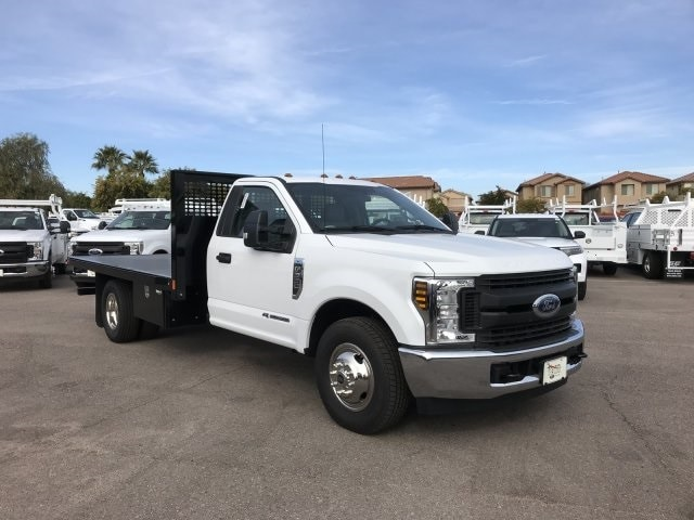 2019 F-350 Regular Cab DRW 4x2, CM Truck Beds Platform Body #KEE37211 - photo 2