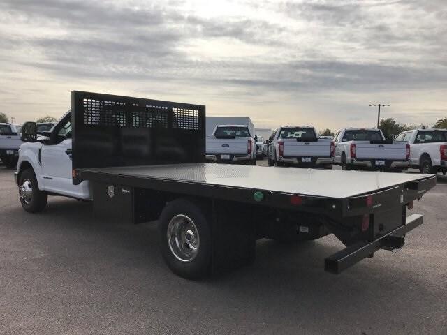 2019 F-350 Regular Cab DRW 4x2, CM Truck Beds Platform Body #KEE37211 - photo 9