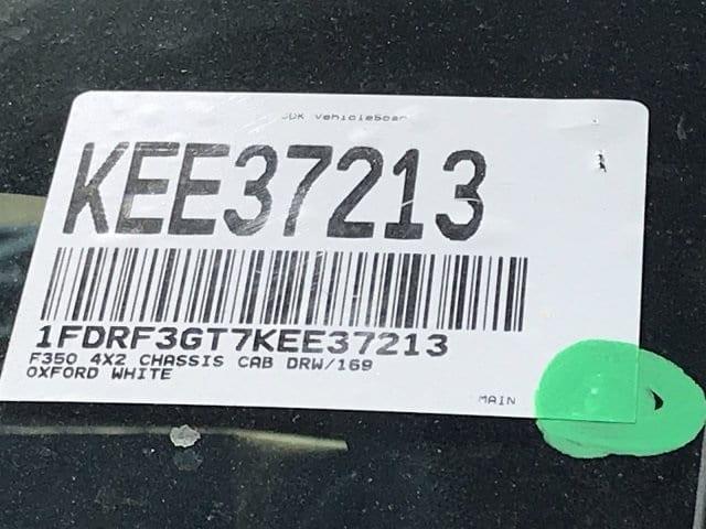 2019 F-350 Regular Cab DRW 4x2,  Cab Chassis #KEE37213 - photo 26