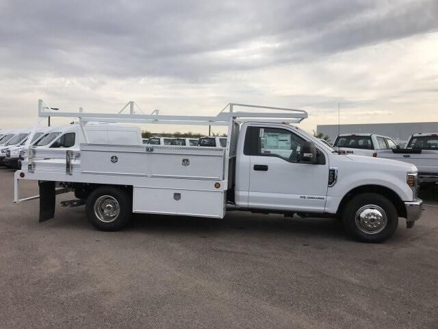 2019 F-350 Regular Cab DRW 4x2, Scelzi Contractor Body #KEE37214 - photo 4