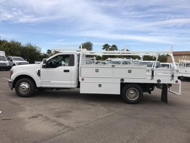 2019 F-350 Regular Cab DRW 4x2, Scelzi Contractor Body #KEE37214 - photo 5