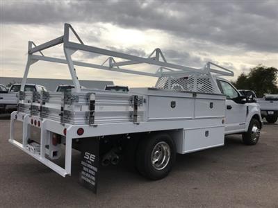 2019 F-350 Regular Cab DRW 4x2, Scelzi Contractor Body #KEE37214 - photo 1