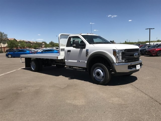 2019 F-550 Regular Cab DRW 4x2,  Scelzi Platform Body #KEE58951 - photo 1