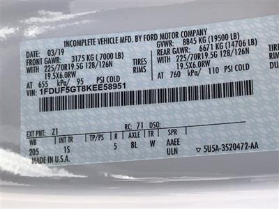 2019 F-550 Regular Cab DRW 4x2,  Scelzi WFB Platform Body #KEE58951 - photo 26