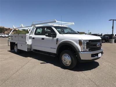 2019 F-550 Crew Cab DRW 4x2,  Scelzi CTFB Contractor Body #KEE60852 - photo 1