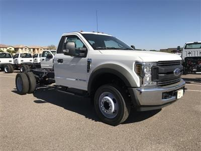 2019 F-550 Regular Cab DRW 4x2, Cab Chassis #KEF21755 - photo 1