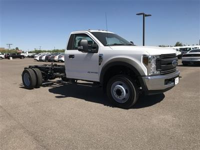 2019 F-550 Regular Cab DRW 4x2, Cab Chassis #KEF21756 - photo 1