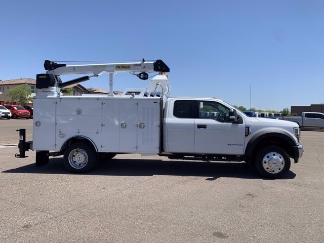 2019 Ford F-550 Super Cab DRW 4x2, Milron Crane Body #KEF21814 - photo 1