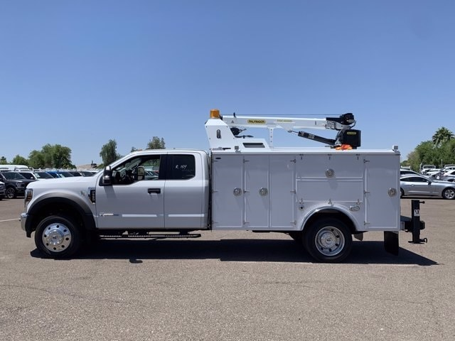 2019 Ford F-550 Super Cab DRW 4x2, Milron Crane Body #KEF21814 - photo 4