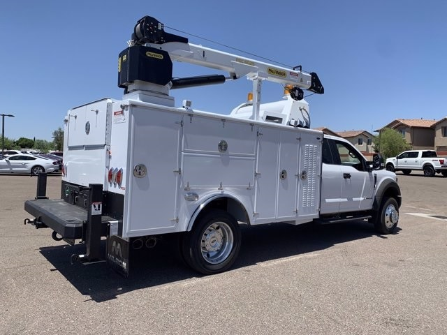 2019 Ford F-550 Super Cab DRW 4x2, Milron Crane Body #KEF21814 - photo 2