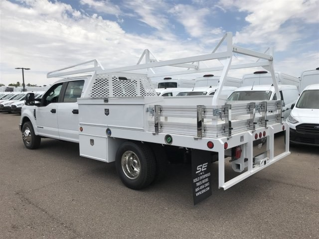 2019 F-350 Crew Cab DRW 4x2, Scelzi CTFB Contractor Body #KEF25612 - photo 3