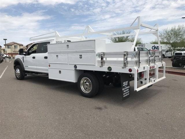 2019 F-550 Crew Cab DRW 4x2,  Scelzi SCTFB Contractor Body #KEF25624 - photo 3