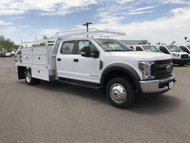 2019 F-550 Crew Cab DRW 4x2,  Scelzi Contractor Body #KEF25624 - photo 1