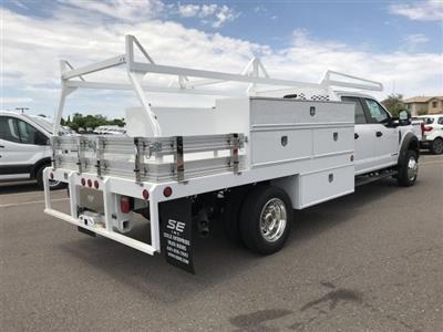 2019 F-550 Crew Cab DRW 4x2,  Scelzi SCTFB Contractor Body #KEF25624 - photo 2