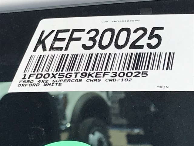 2019 F-550 Super Cab DRW 4x2, Cab Chassis #KEF30025 - photo 24