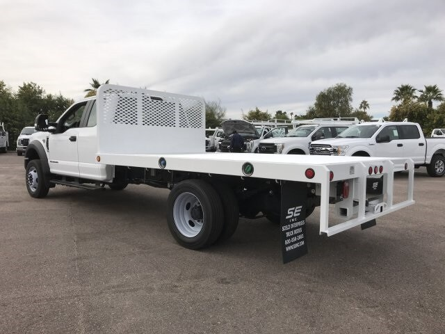2019 F-550 Super Cab DRW 4x2, Scelzi Platform Body #KEF30028 - photo 7