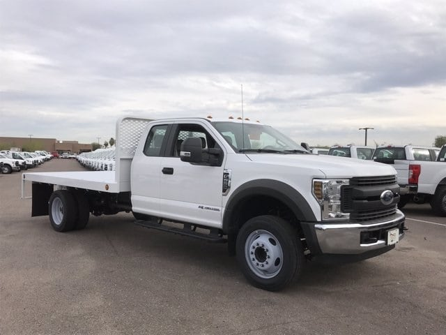 2019 Ford F-550 Super Cab DRW 4x2, Scelzi Platform Body #KEF30028 - photo 1