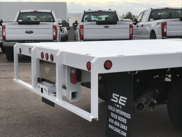 2019 F-550 Super Cab DRW 4x2, Scelzi Platform Body #KEF30028 - photo 8