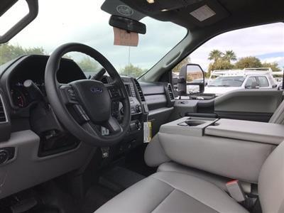 2019 Ford F-550 Super Cab DRW 4x2, Scelzi Platform Body #KEF30028 - photo 15