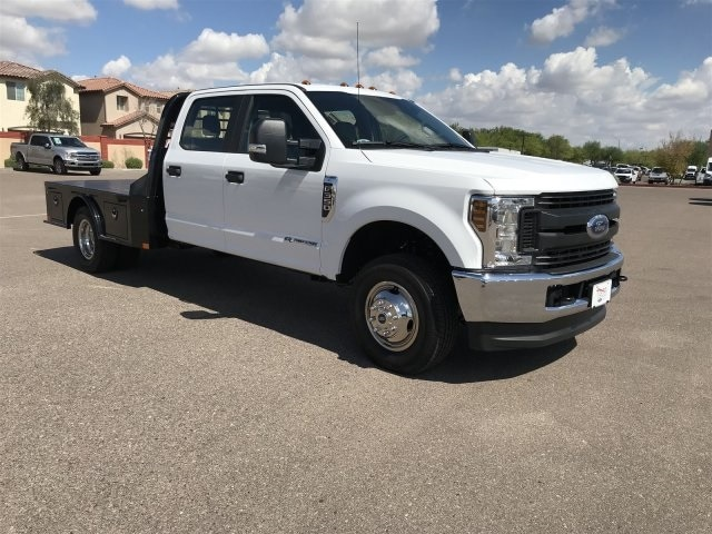 2019 F-350 Crew Cab DRW 4x4, CM Truck Beds Platform Body #KEF89572 - photo 1
