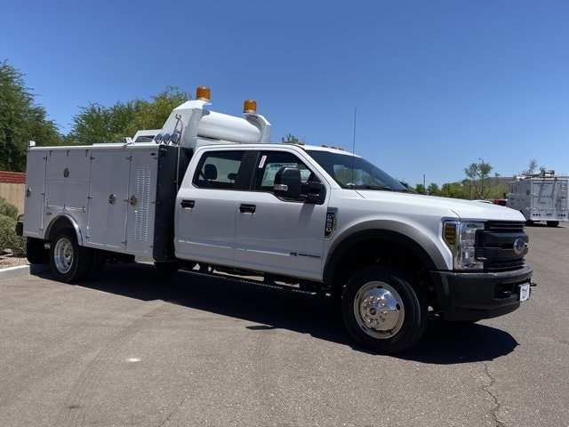 2019 Ford F-550 Crew Cab DRW 4x2, Milron Crane Body #KEG51003 - photo 1