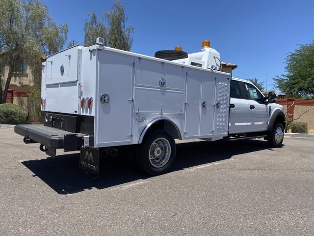 2019 Ford F-550 Crew Cab DRW 4x2, Milron Crane Body #KEG51003 - photo 1