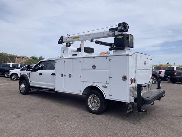 2019 Ford F-550 Crew Cab DRW 4x4, Milron Aluminum Service Crane Body #KEG51007 - photo 5