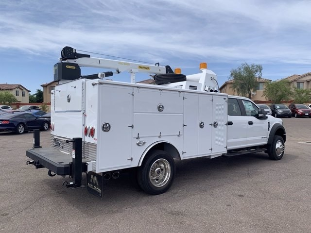 2019 Ford F-550 Crew Cab DRW 4x4, Milron Crane Body #KEG51007 - photo 1