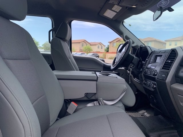 2019 Ford F-550 Crew Cab DRW 4x4, Milron Aluminum Service Crane Body #KEG51007 - photo 7