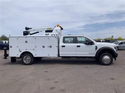 2019 Ford F-550 Crew Cab DRW 4x4, Milron Aluminum Service Crane Body #KEG51007 - photo 3