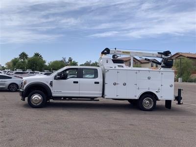 2019 Ford F-550 Crew Cab DRW 4x4, Milron Aluminum Service Crane Body #KEG51007 - photo 4