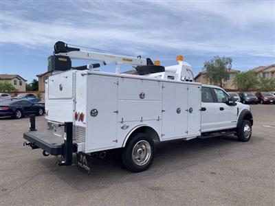 2019 Ford F-550 Crew Cab DRW 4x4, Milron Aluminum Service Crane Body #KEG51007 - photo 2