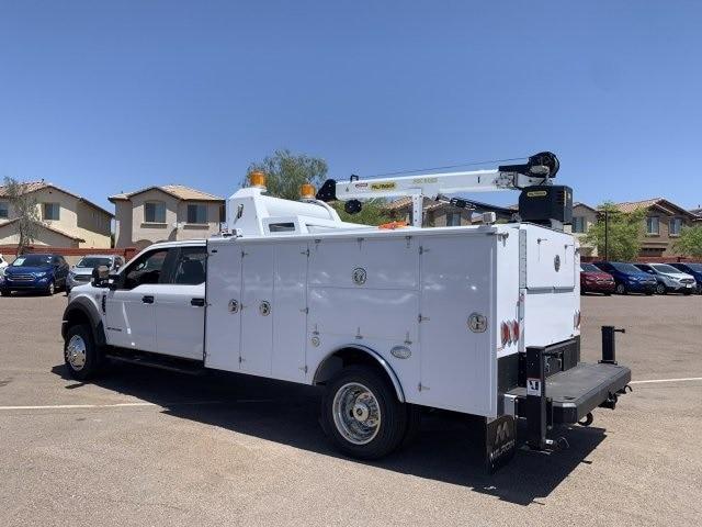 2019 F-550 Crew Cab DRW 4x4, Milron Aluminum Service Crane Body #KEG55293 - photo 7