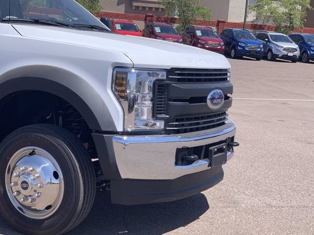 2019 Ford F-550 Crew Cab DRW 4x4, Milron Aluminum Service Crane Body #KEG55293 - photo 3
