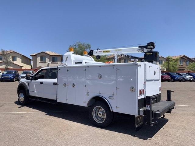 2019 Ford F-550 Crew Cab DRW 4x4, Milron Aluminum Service Crane Body #KEG55293 - photo 7