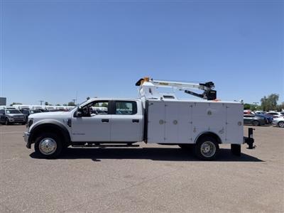 2019 F-550 Crew Cab DRW 4x4, Milron Aluminum Service Crane Body #KEG55293 - photo 5