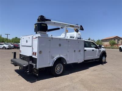2019 F-550 Crew Cab DRW 4x4, Milron Aluminum Service Crane Body #KEG55293 - photo 2