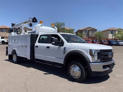 2019 Ford F-550 Crew Cab DRW 4x4, Milron Aluminum Service Crane Body #KEG55293 - photo 1