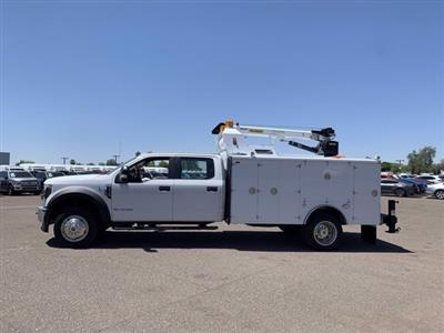 2019 Ford F-550 Crew Cab DRW 4x4, Milron Aluminum Service Crane Body #KEG55293 - photo 5