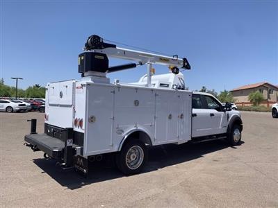 2019 Ford F-550 Crew Cab DRW 4x4, Milron Aluminum Service Crane Body #KEG55293 - photo 2