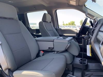 2019 Ford F-550 Crew Cab DRW 4x4, Milron Aluminum Service Crane Body #KEG55293 - photo 9