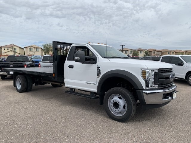 2019 F-550 Regular Cab DRW 4x2, CM Truck Beds Platform Body #KEG74623 - photo 1