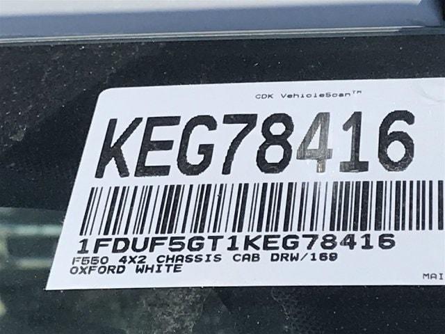 2019 F-550 Regular Cab DRW 4x2, Cab Chassis #KEG78416 - photo 21